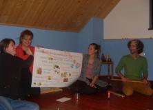 "Workshop ""Arteterapia & meditácia"" - Banský Studenec, 31.10. - 2.11.2014"