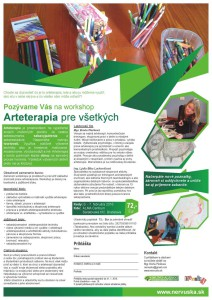 6. – 7. Február 2016, Bratislava, Arteterapia pre všetkých