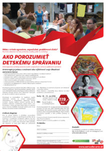 Ako porozumieť detskému správaniu, 10. - 12. júna 2016, Banský Studenec