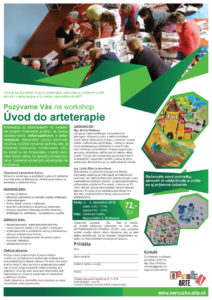 Pozývame Vás na workshop Úvod do arteterapie
