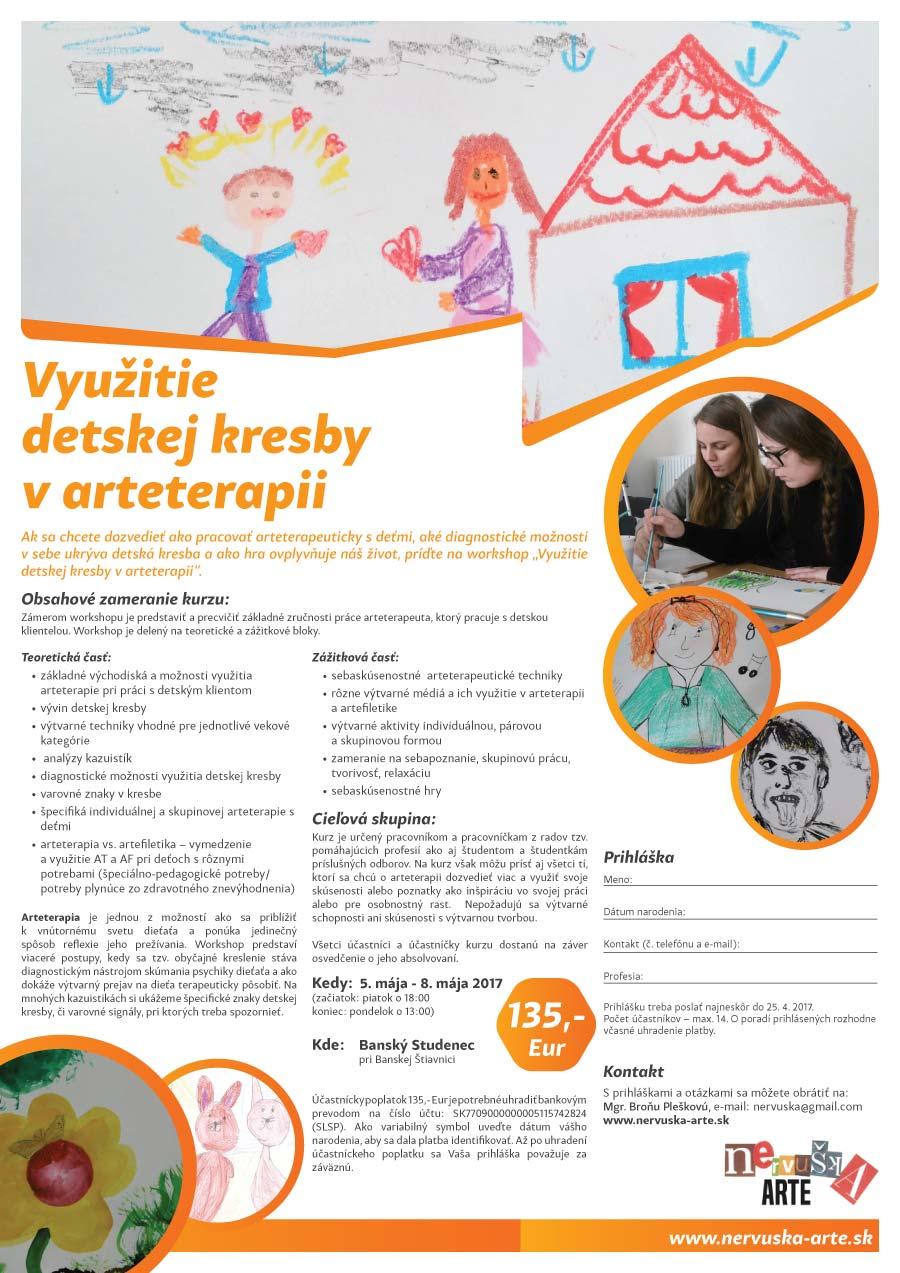 Maj Vyuzitie Detskej Kresby V Arteterapii Nervuska Arte