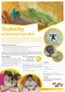október: Techniky arteterapie pre deti