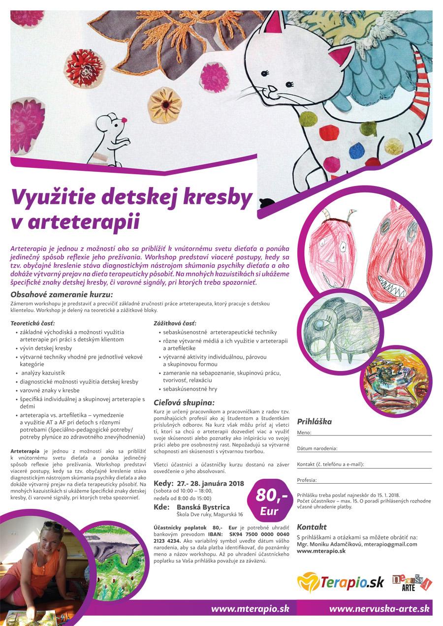 Vyuzitie Detskej Kresby V Arteterapii Nervuska Arte