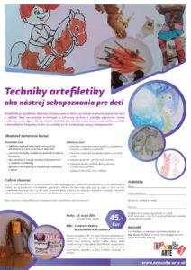 Techniky artefiletiky ako nástroj sebapoznania pre deti