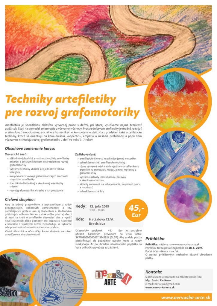 Techniky artefiletiky pre rozvoj grafomotoriky