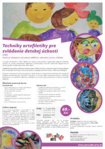 Techniky artefiletiky pre zvládanie detskej úzkosti