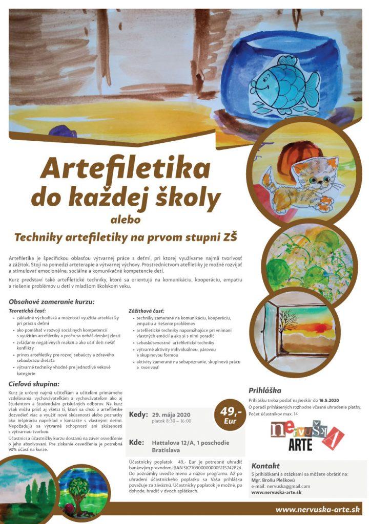 Artefiletika do každej školy alebo Techniky artefiletiky na prvom stupni ZŠ