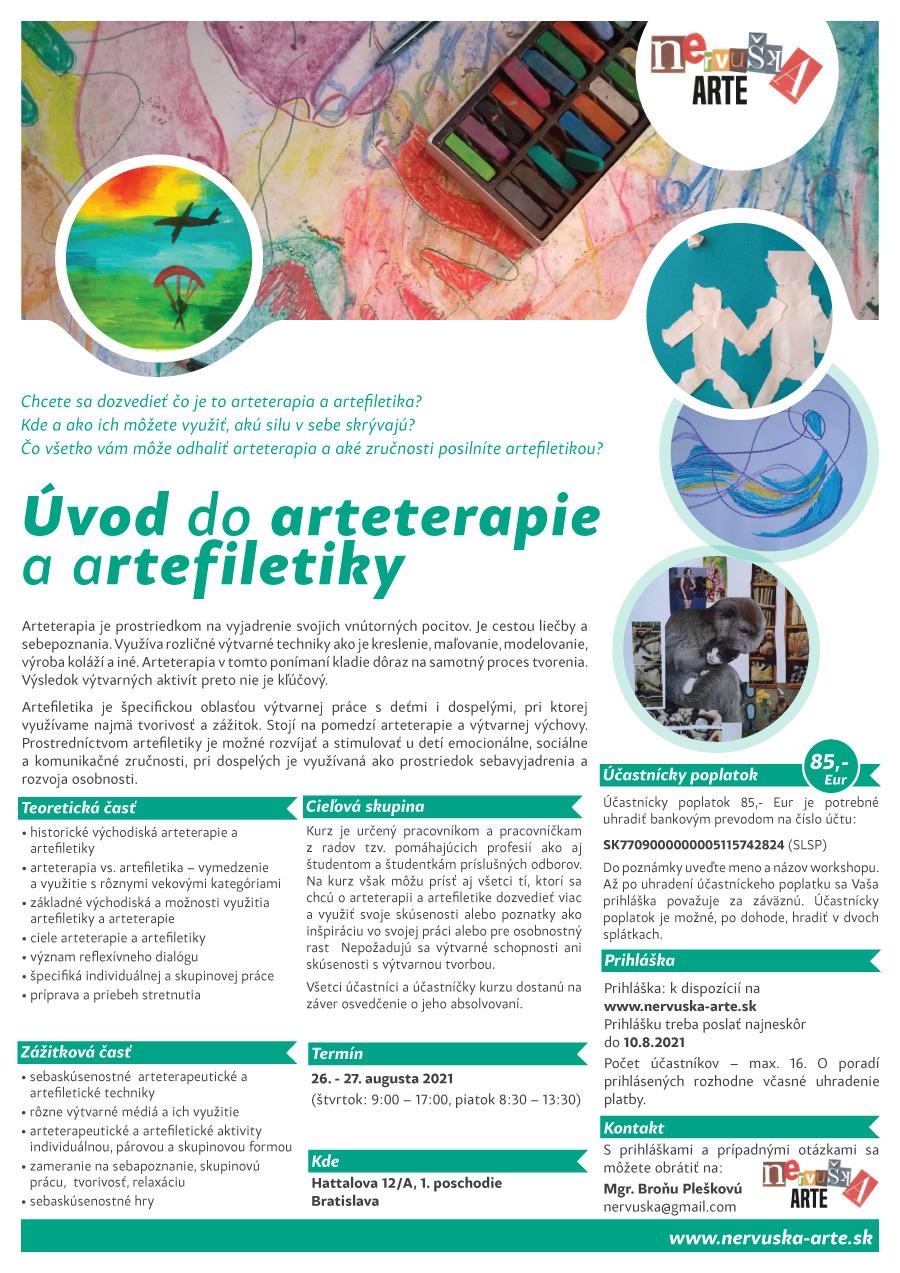 Úvod do arteterapie a artefiletiky